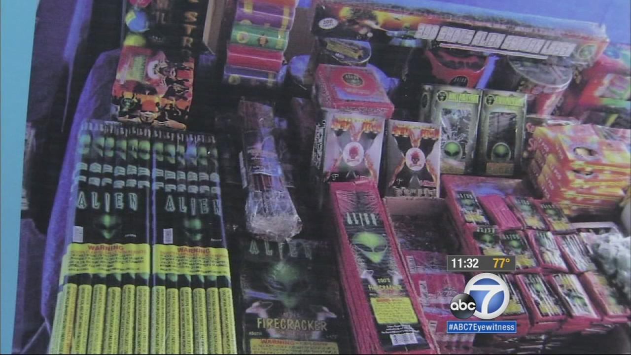 The City of Los Angeles is cracking down on illegal fireworks as the Fourth of July holiday nears.