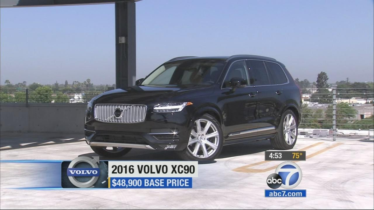 Its something thats only happened once before, and that was more than a dozen years ago. A brand new Volvo XC90 SUV is out.