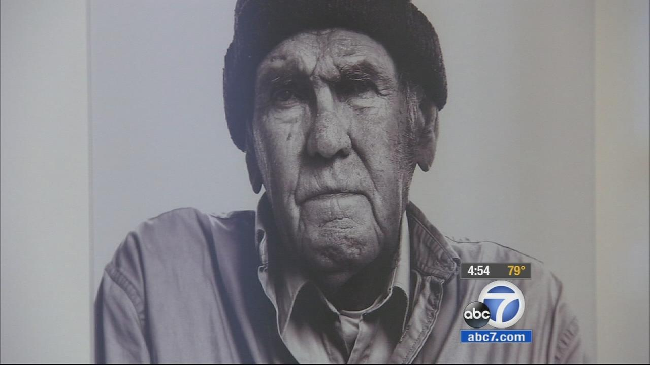 A collection of photos of World War II veterans, titled American Heroes, Portraits of Service, will be on display at a gallery at the Belmont Village of Burbank.