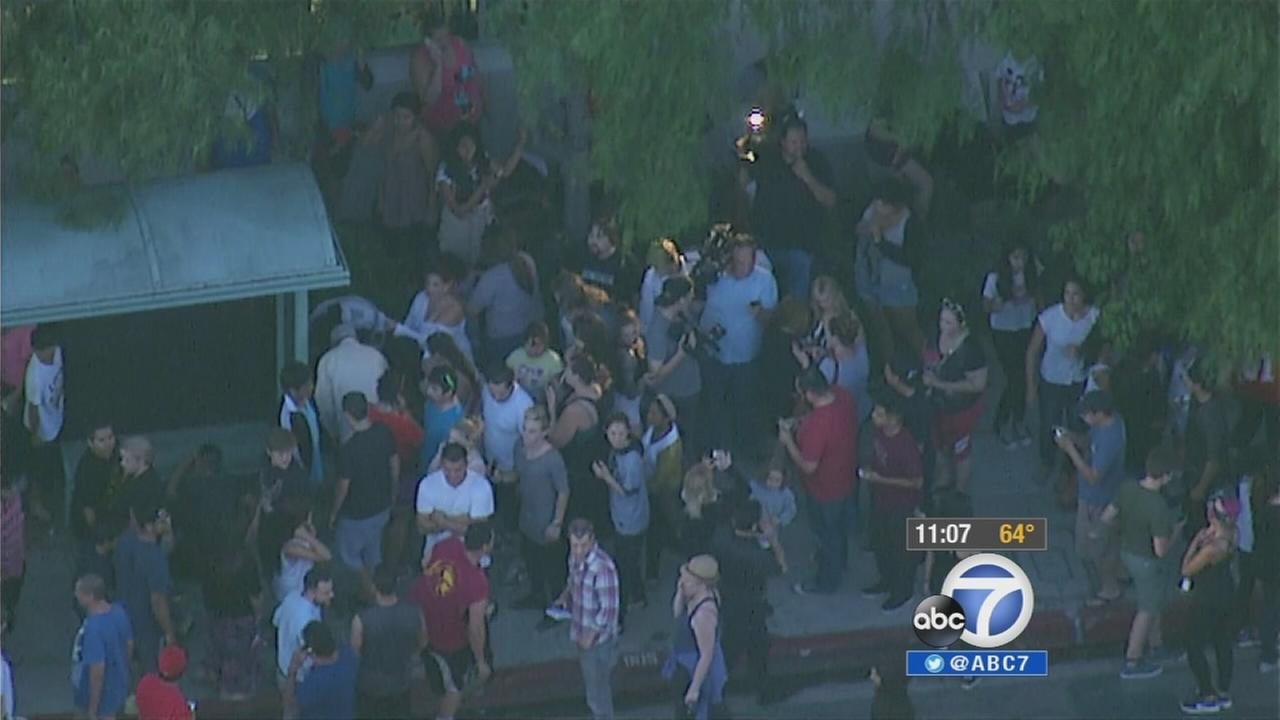 Crowds flocked to the Burbank Empire Center to find hidden cash on Thursday, May 29, 2014.