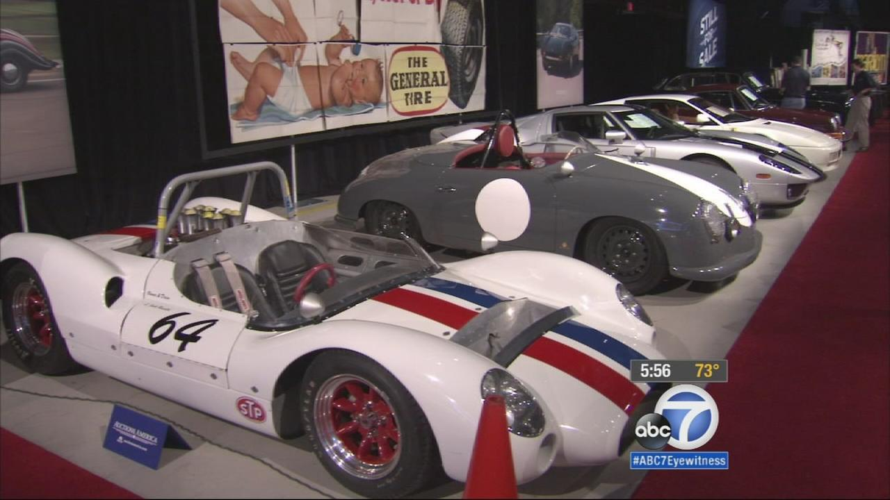 If youve dreamed of driving behind the wheel of a classic car, theres an auction in Santa Monica on Saturday that youll want to check out.