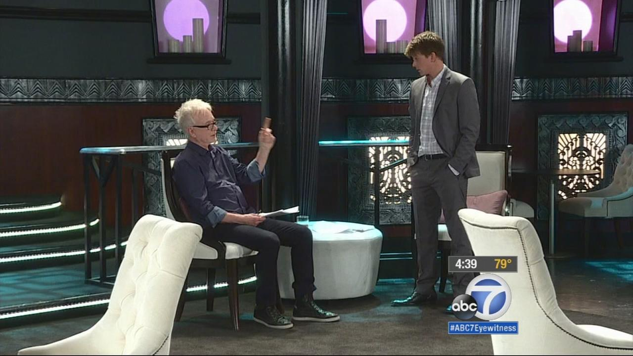 Actor Tony Geary is shown filming one of his final scenes on General Hospital.