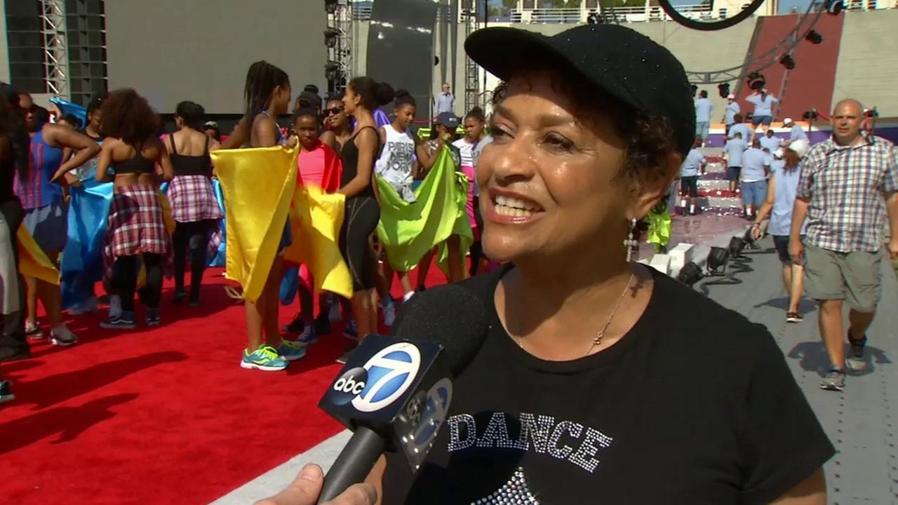 Emmy Award-winning choreographer Debbie Allen is shown in this undated file photo.
