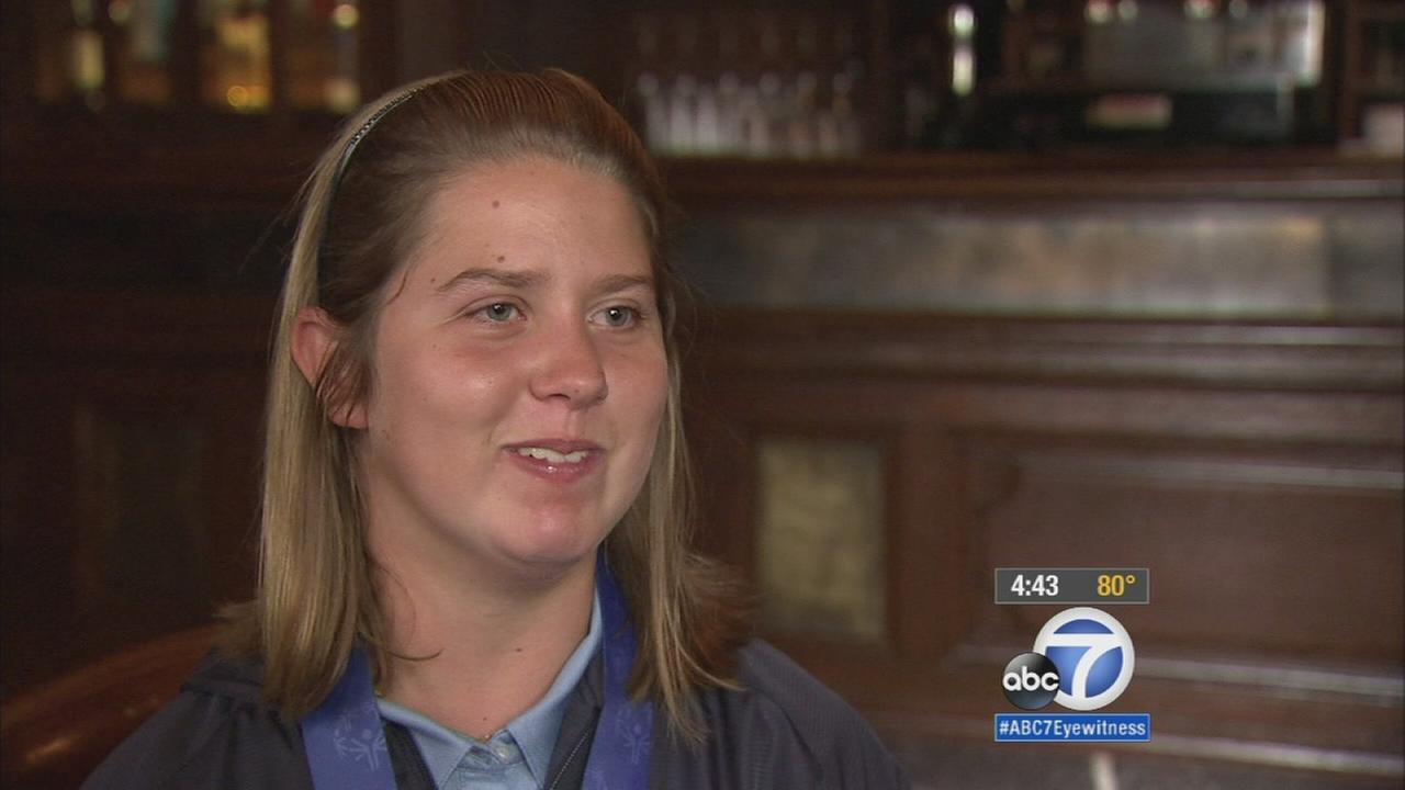 Special Olympian Lucy Meyer is shown in an undated photo.