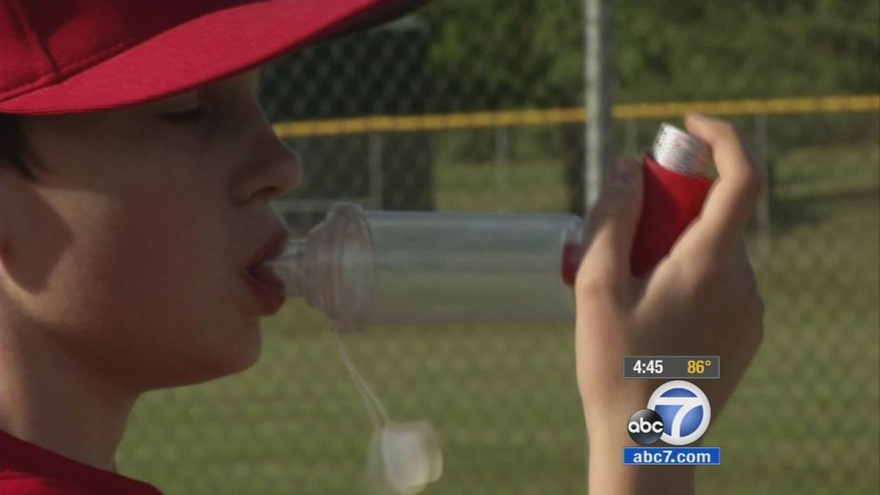 Researchers at Washington University are exploring a new way to help kids with asthma.