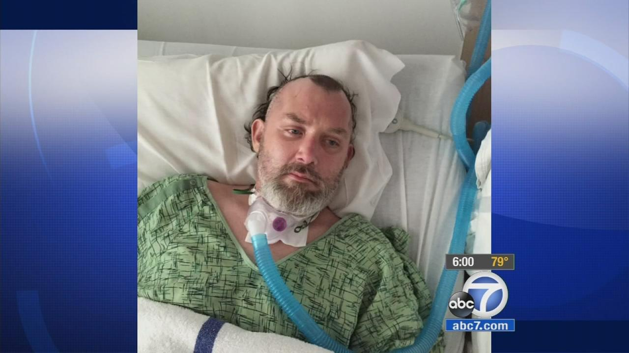 Bryan Neilson, 41, is shown in an undated photo taken at a Riverside hospital.
