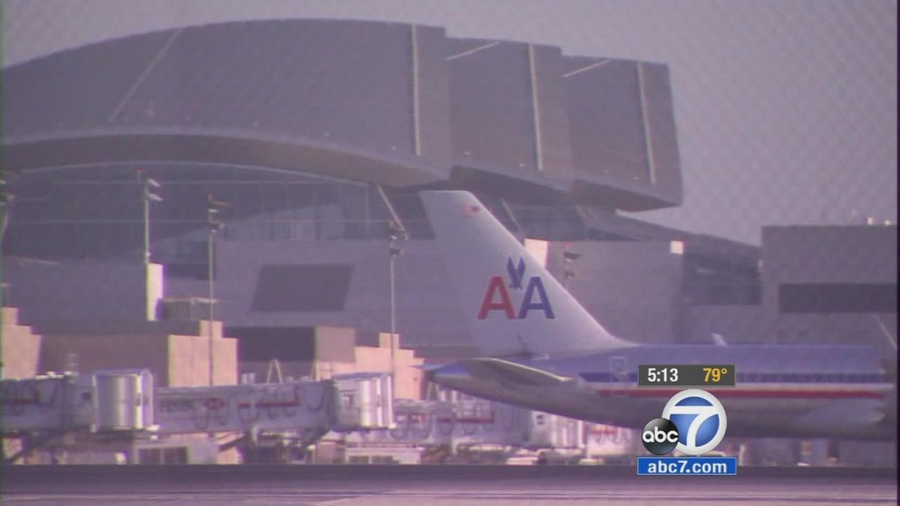 An image from the Ontario Airport is shown above.