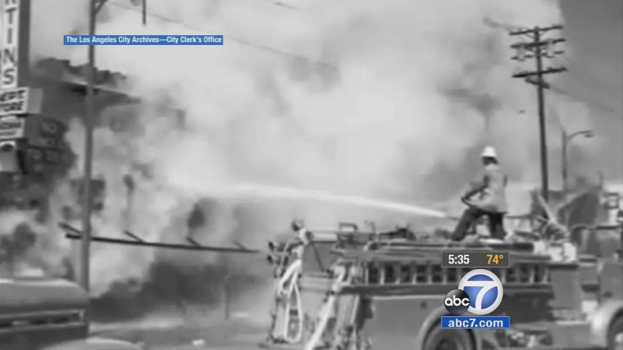 Fifty years after the Watts riots threw Los Angeles into six days of terror and violence, ABC 7 reporter Adrienne Alpert looks back at how the rioting started and how it has changed the city.