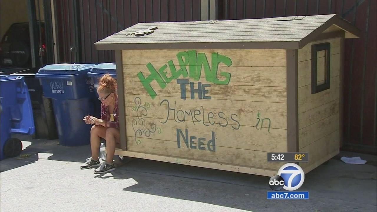 Los Angeles City Councilman Joe Buscaino wants tiny houses built for the homeless in his district to be removed from city streets.