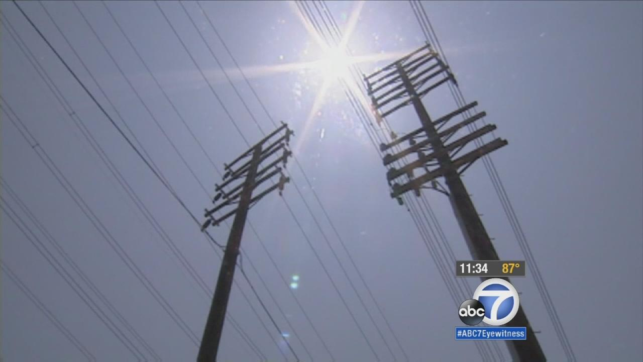 As a heat wave moves into Southern California, the Los Angeles Department of Water and Power is urging the public to conserve electricity.
