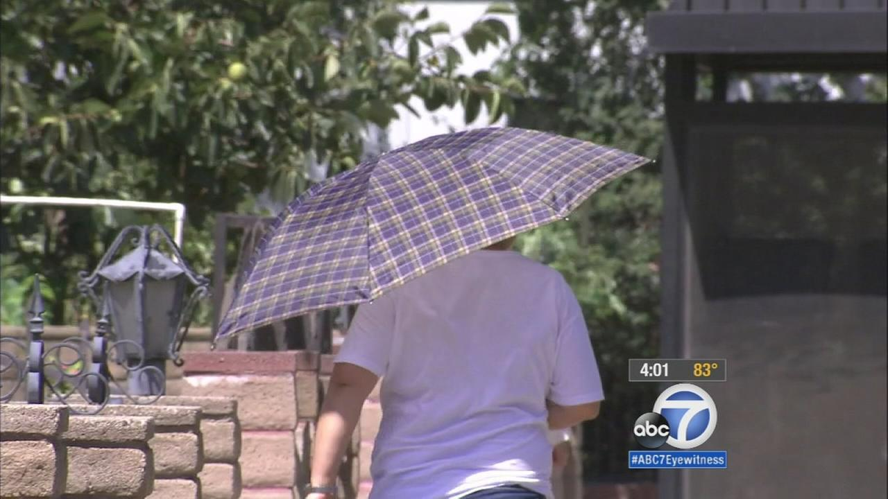 After three fires broke out in as many days and temperatures soared, many San Gabriel Valley residents are trying to avoid the outdoors.