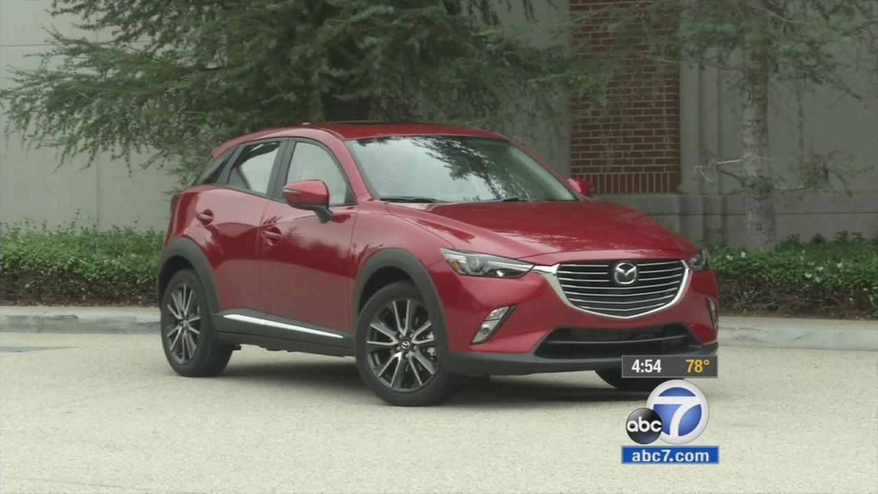 The new Mazda CX-3 is shown in an undated photo.