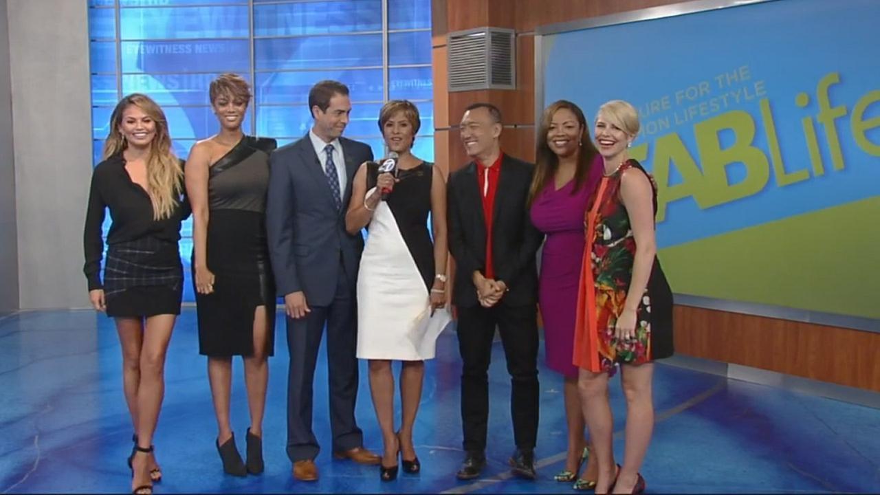 FABLife hosts Tyra Banks, Chrissy Teigen, Joe Zee, Lauren Makk and Leah Ashley visited ABC7 on Monday, Aug. 24, 2015.