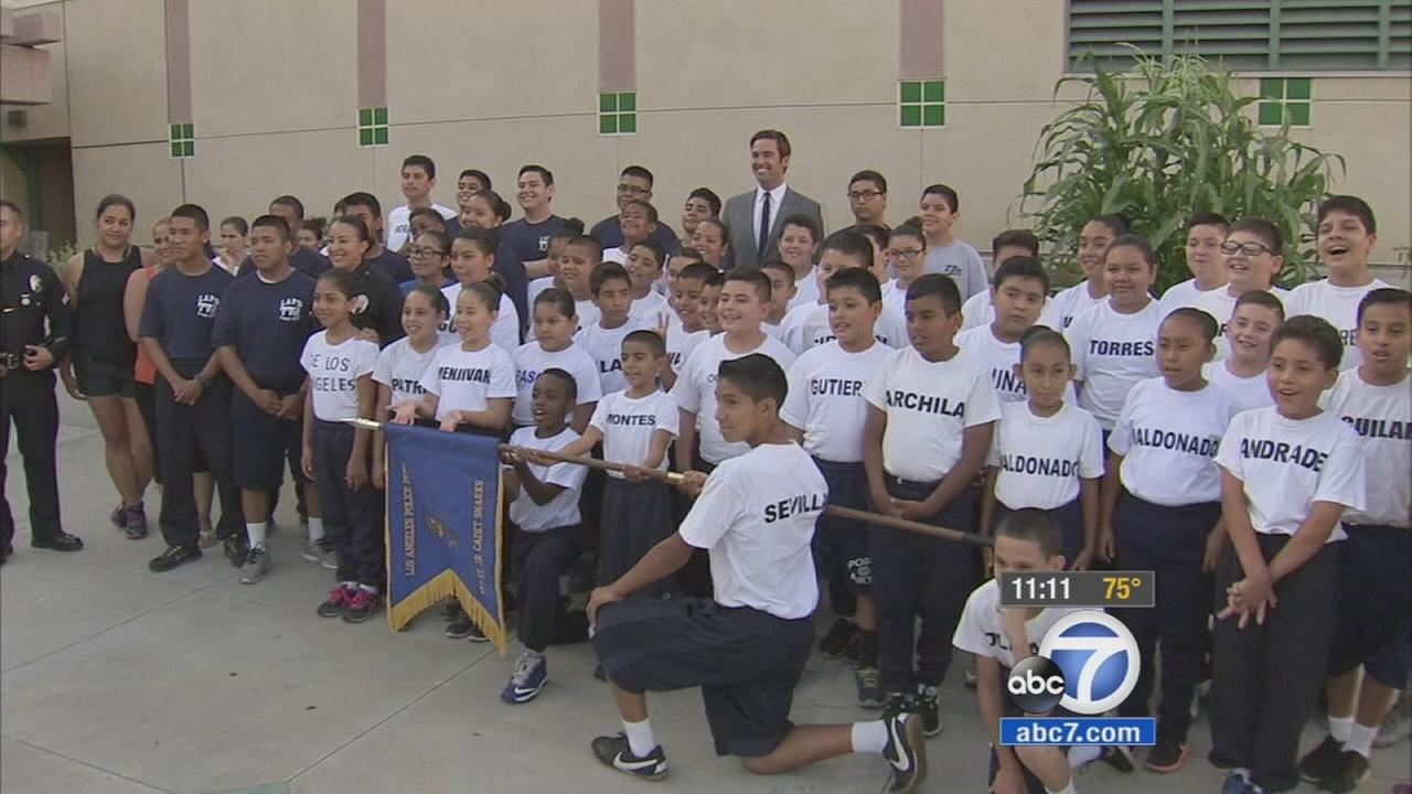 The Los Angeles Police Departments junior cadets program offers a free, safe sanctuary for 9- to 12-year-old kids.