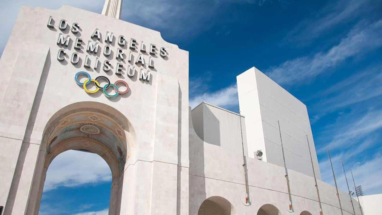 The Los Angeles Memorial Coliseum is shown in this file image.