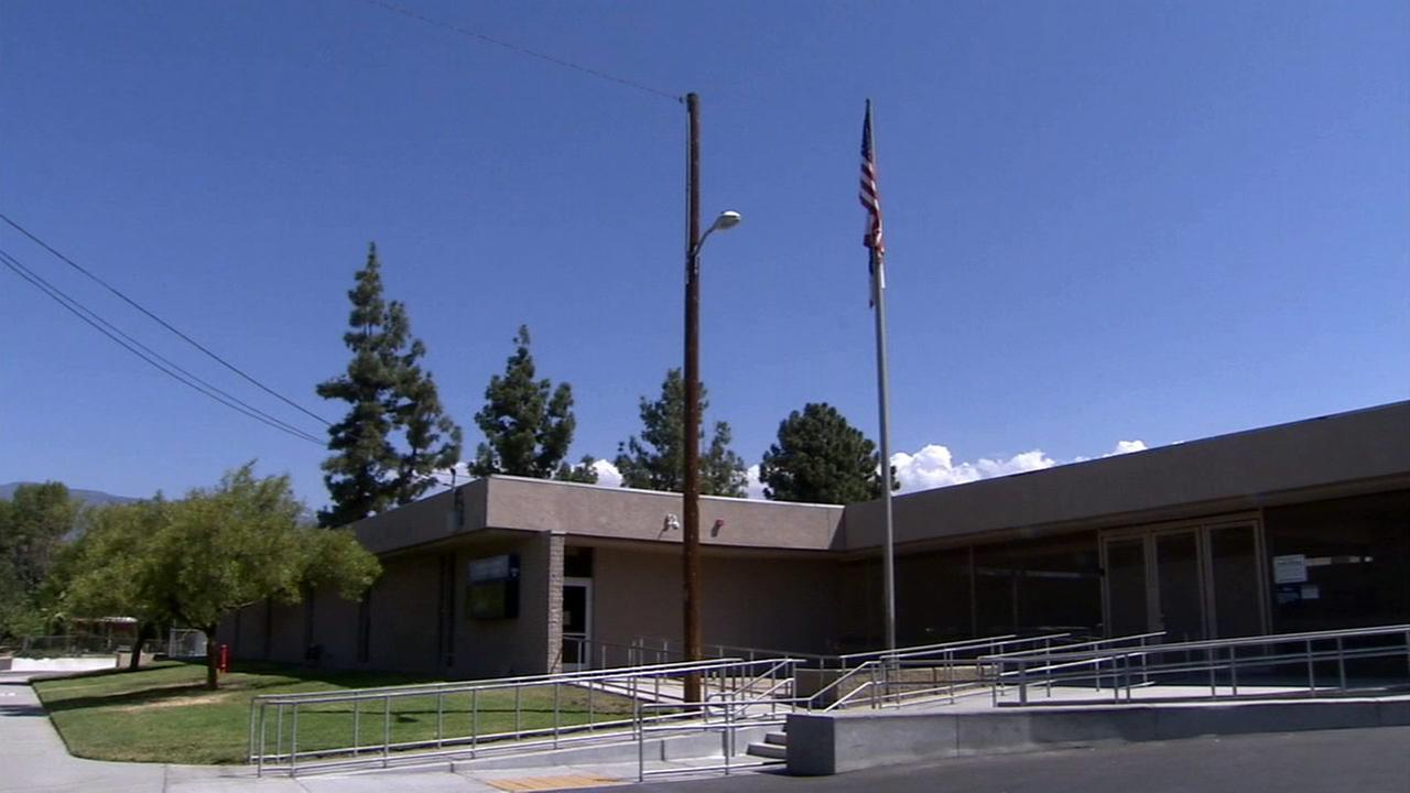 Lankershim Elementary School is shown in an undated photo.
