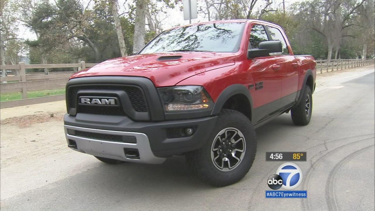 The new Ram Rebel is shown in an undated file photo.