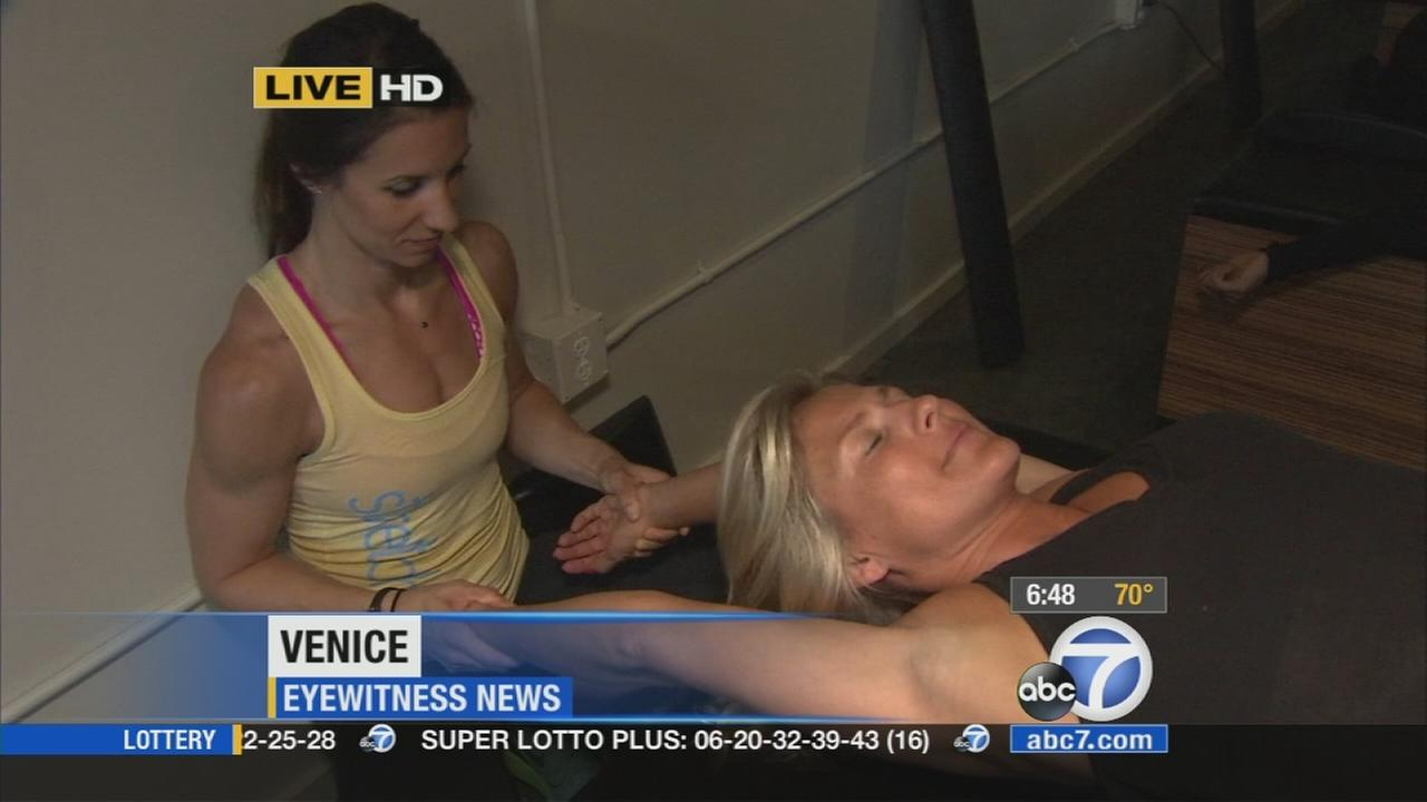 A new Venice studio is offering a soothing type of training with professional assisted stretching for those needing help with tight and tired muscles.