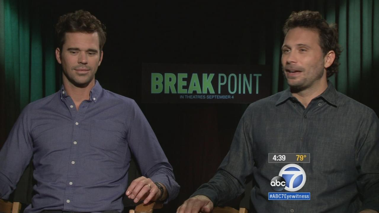 Jeremy Sisto and David Walton are shown together in an undated photo.