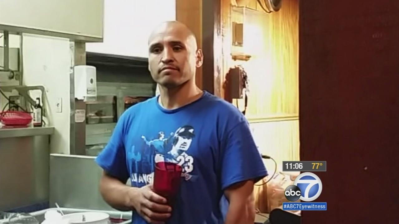 Eddie Tapia is shown in a cellphone video captured moments before he was killed in a deputy-involved shooting on Thursday, Sept. 10, 2015.