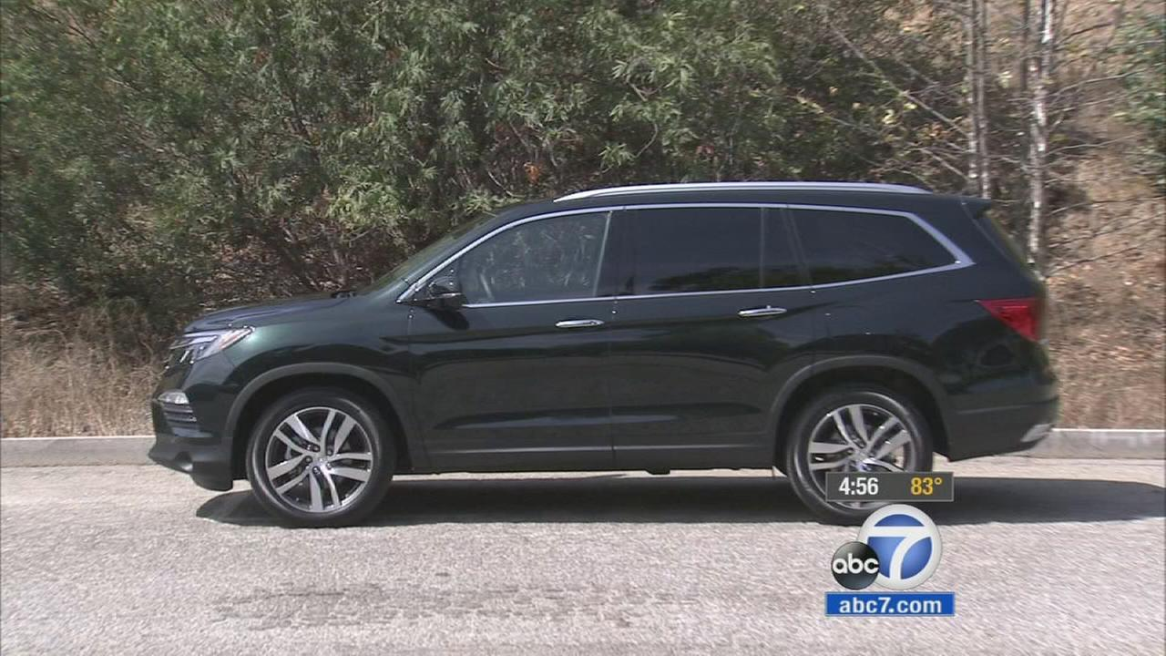 The 2016 Honda Pilot is shown in an undated photo.