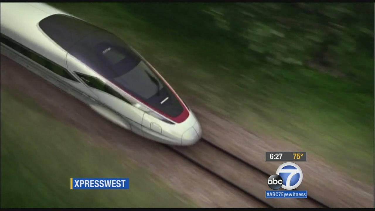 Companies put out $100M to build high-speed rail from SoCal to Vegas
