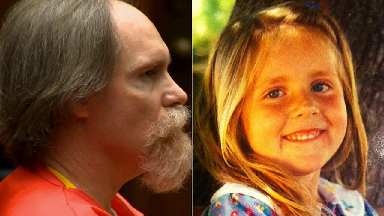 Cameron Brown, left, was sentenced to life in prison for throwing his 4-year-old daughter Lauren Sarene Key, right, to her death off a cliff in Rancho Palos Verde in November 2000.