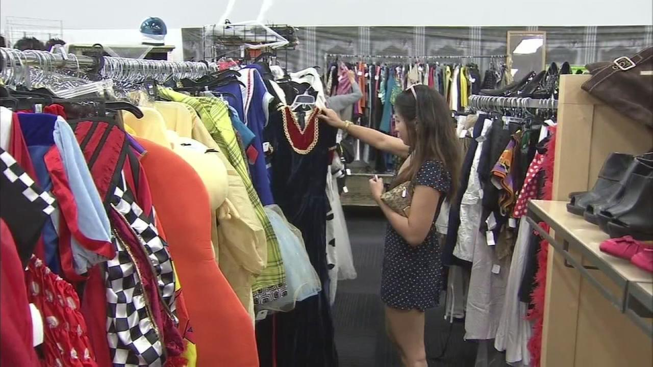 Goodwill Pop-Up BOO-tique offers low-priced Halloween costumes