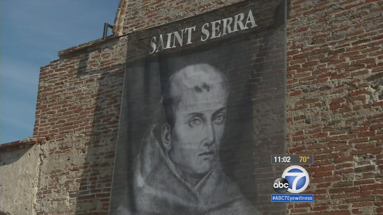 Sainthood for Junipero Serra sparks controversy