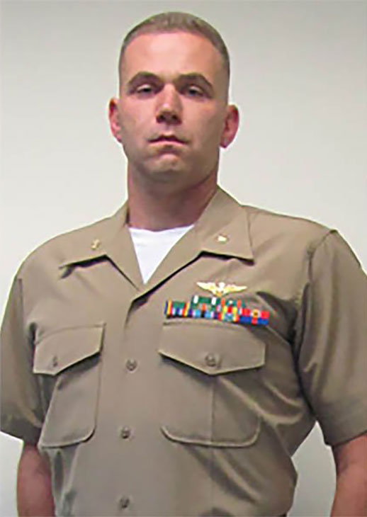 <div class='meta'><div class='origin-logo' data-origin='KABC'></div><span class='caption-text' data-credit=''>Caine M. Goyette,one of 16 servicemen killed in a military plane crash in Mississippi on Monday July 10, 2017.</span></div>