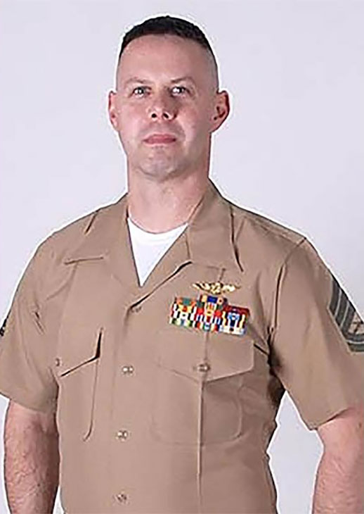 <div class='meta'><div class='origin-logo' data-origin='KABC'></div><span class='caption-text' data-credit=''>Brendan C. Johnson,one of 16 servicemen killed in a military plane crash in Mississippi on Monday July 10, 2017.</span></div>