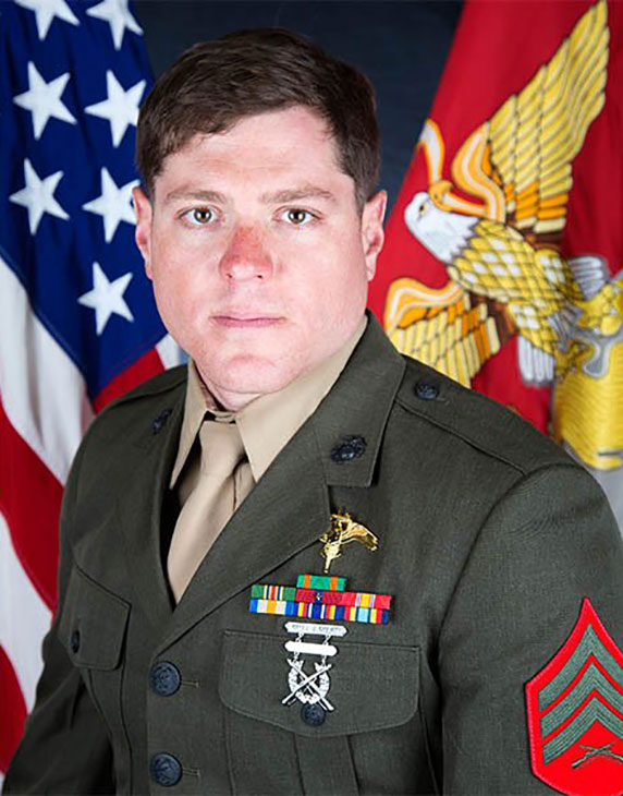 <div class='meta'><div class='origin-logo' data-origin='KABC'></div><span class='caption-text' data-credit=''>Talon R. Leach, one of 16 servicemen killed in a military plane crash in Mississippi on Monday July 10, 2017.</span></div>