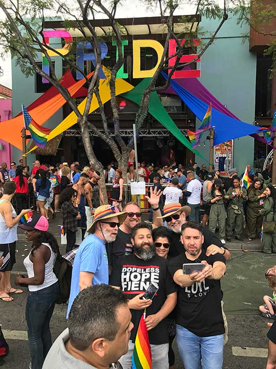 <div class='meta'><div class='origin-logo' data-origin='KABC'></div><span class='caption-text' data-credit=''>Thousands gathered for LA Pride's Resist March on Sunday, June 11, 2017.</span></div>