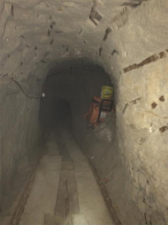 <div class='meta'><div class='origin-logo' data-origin='none'></div><span class='caption-text' data-credit='United States Department of Justice'>The tunnel's passageway is shown.</span></div>