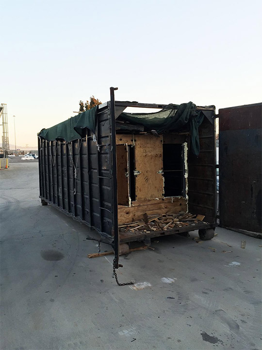 "<div class=""meta image-caption""><div class=""origin-logo origin-image none""><span>none</span></div><span class=""caption-text"">A modified large container is seen near the site of the drug tunnel. (United States Department of Justice)</span></div>"