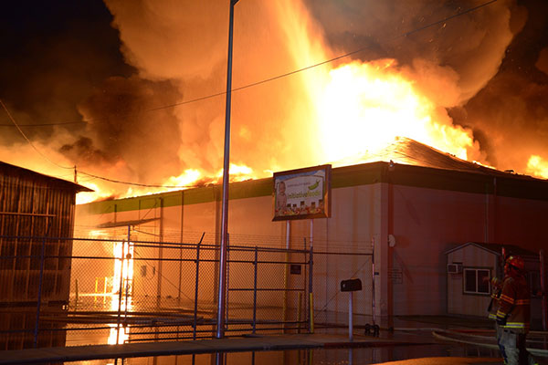 <div class='meta'><div class='origin-logo' data-origin='KFSN'></div><span class='caption-text' data-credit='Photo by Dennis Silvas'>Initiative Foods fire in Sanger</span></div>