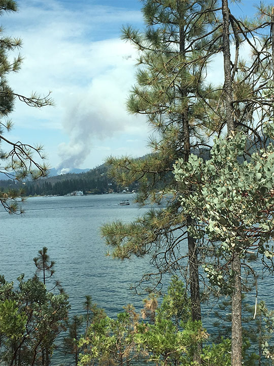 <div class='meta'><div class='origin-logo' data-origin='none'></div><span class='caption-text' data-credit='Jodi DerMinasian'>Railroad Fire seen from Bass Lake</span></div>