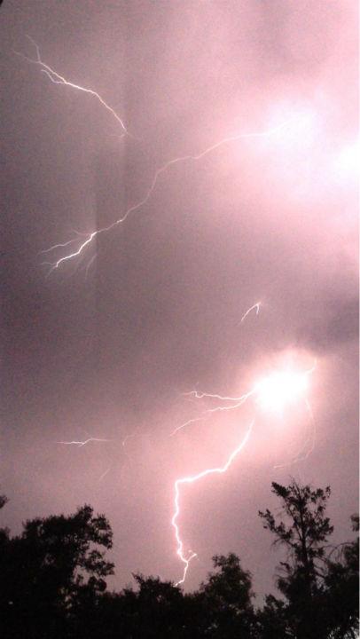 Lightning Storm Rolls Through The Valley Abc30 Com