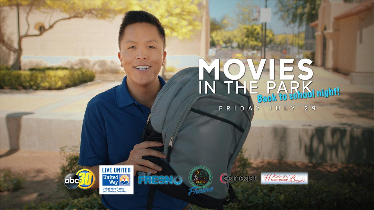 Movies in the Park: Back to School Night