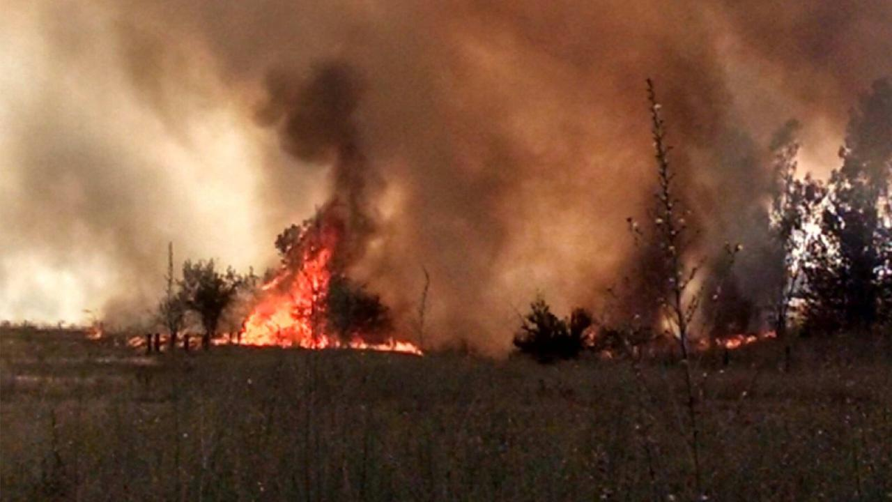 Evacuations called in Fresno County due to grass fire