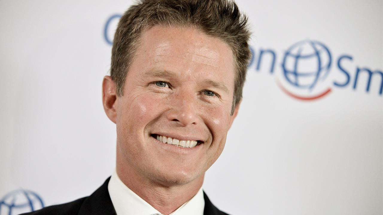 In this Sept. 19, 2014 file photo, Billy Bush arrives at the Operation Smiles 2014 Smile Gala in Beverly Hills, Calif.