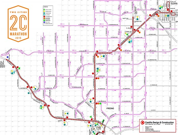 Two Cities Marathon road closures abc30com
