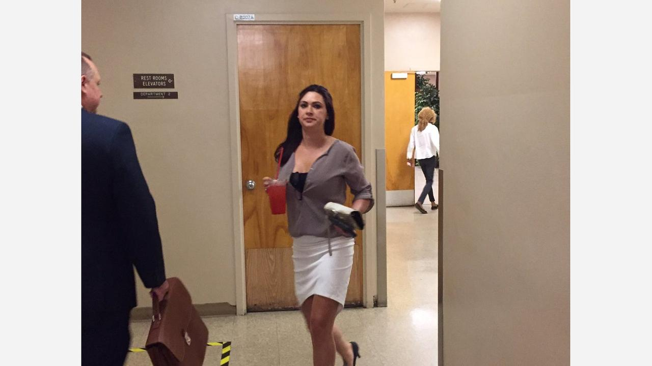 Bunny Ranch sex worker Alicia Stapleton appears in court, accused of prostituting for Fresno PD officer