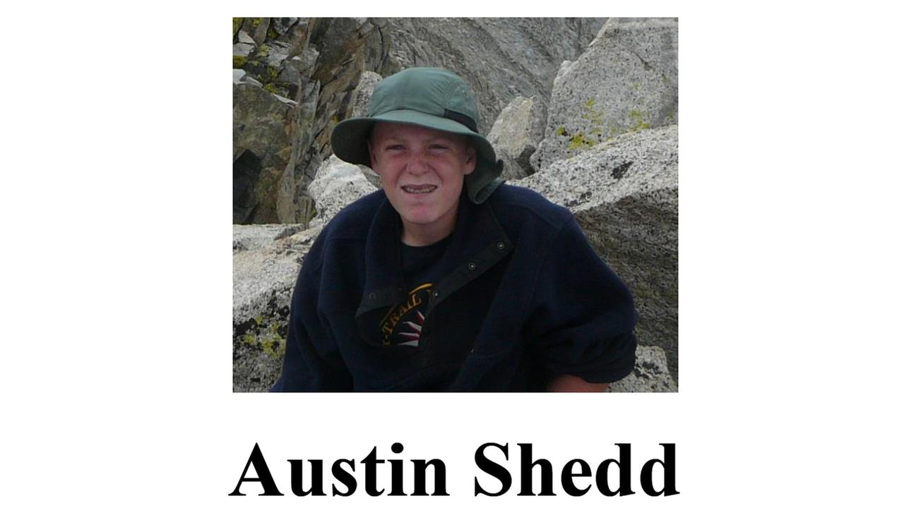 Missing hiker - Austin Shedd