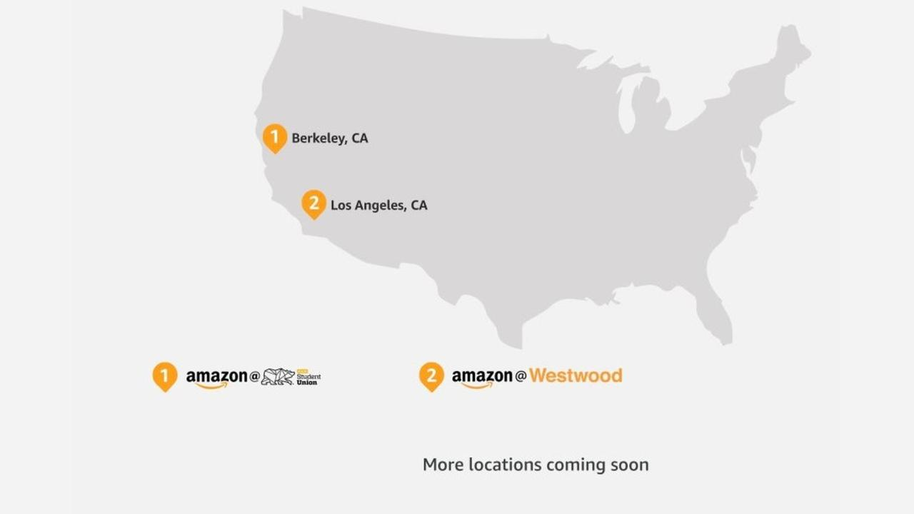 """Amazon begins """"instant pickup"""" at two California locations"""
