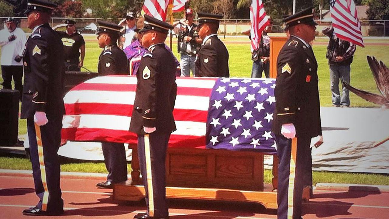 Pfc. Keith Williams - memorial service