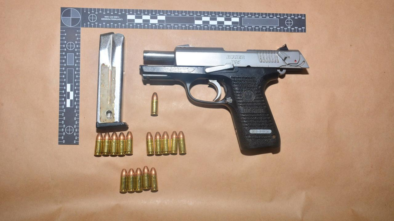 Officers arrest gang member with loaded firearm and high capacity magazine during traffic stop