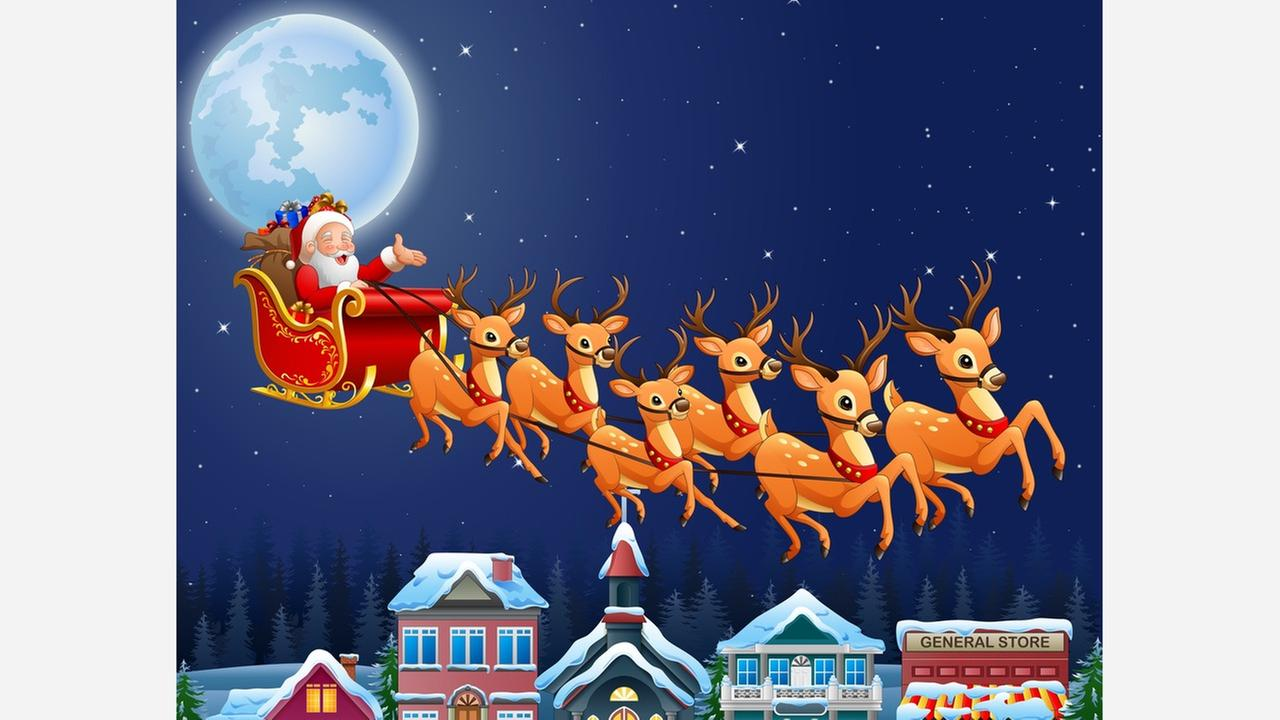 air force retracts tweet u0027s santa clause he u0027s real after all