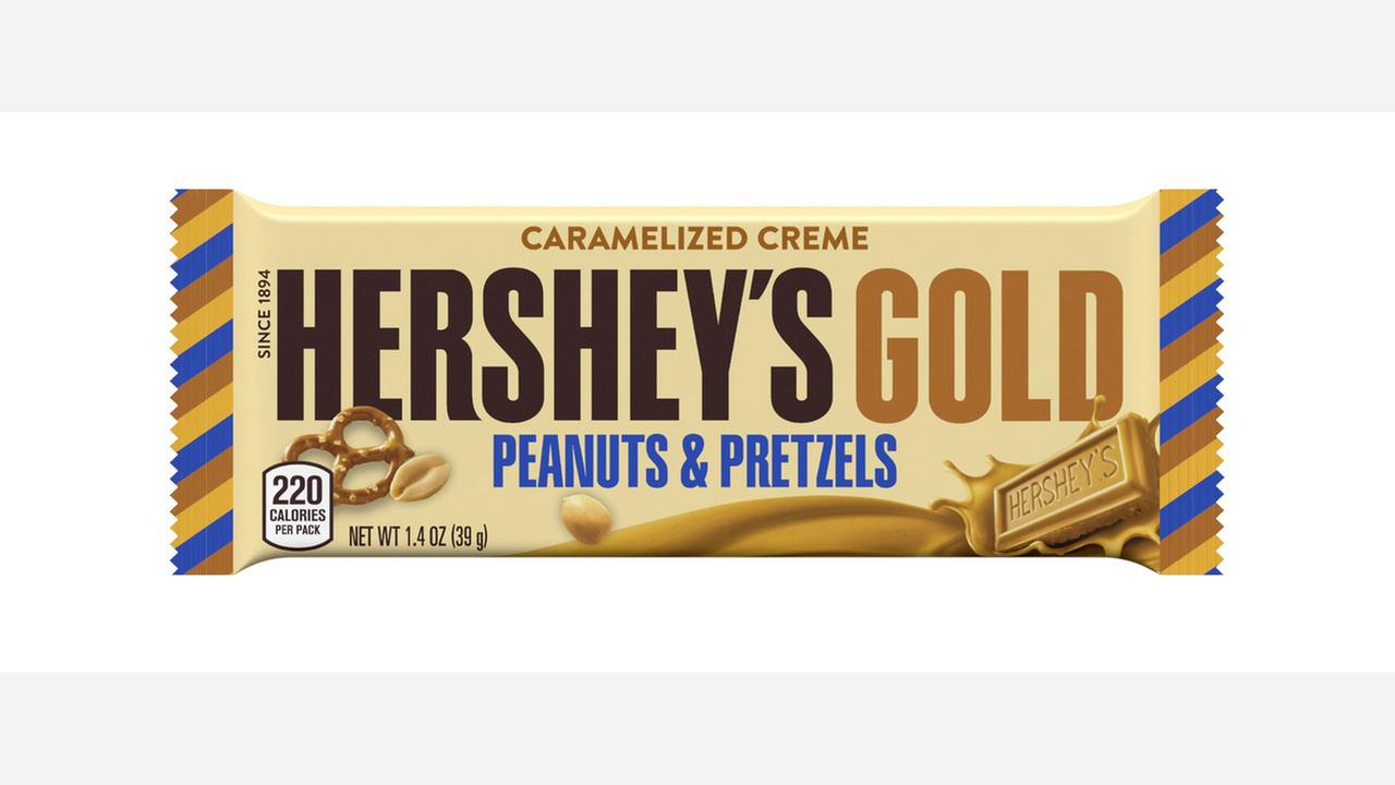 Hershey's hopes to strike gold with brand new flavor