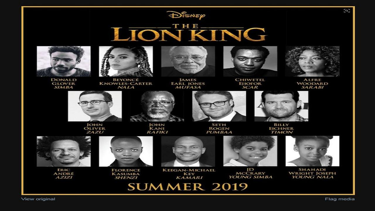 In a social media post, Disney quietly announces Beyonce' will be in 'The Lion King'